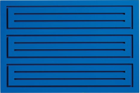 Donald Judd, Untitled, wood block blue, 1991, estimate: $20,000-30,000