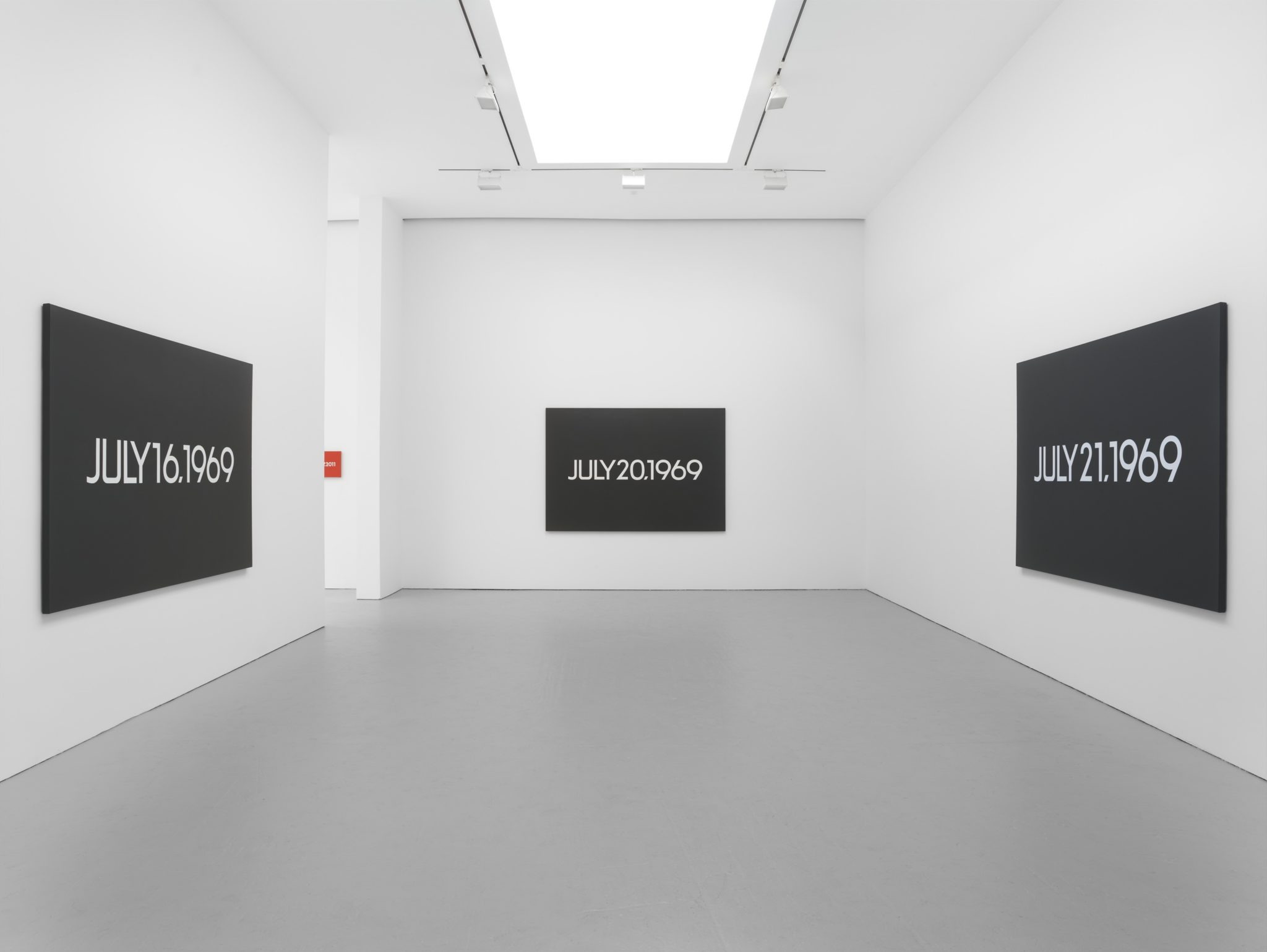 On Kawara alla Galleria di David Zwirner