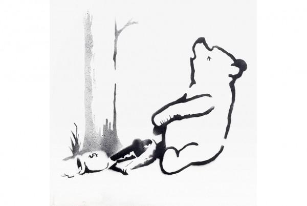 Banksy, Winnie the Pooh (2013)