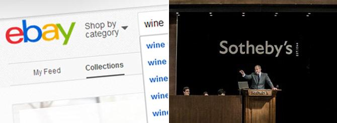Sotheby's firma una partnership con e-Bay