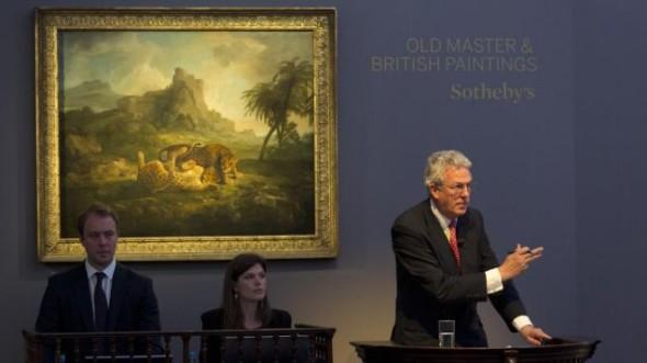 伦敦苏富比-旧时代大师油画拍卖再创新高