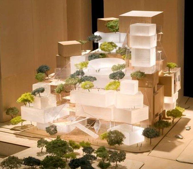 Il progetto di Frank O' Gehry per il Performing Arts Center al World Trade Center