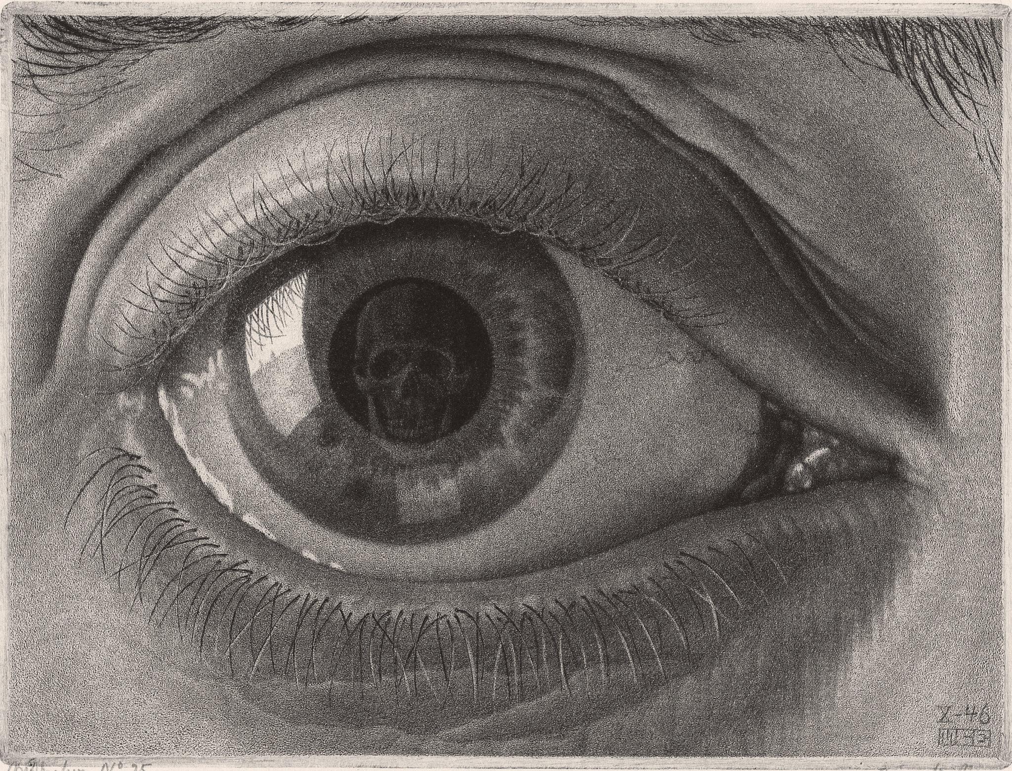 Maurits Cornelis Escher Occhio