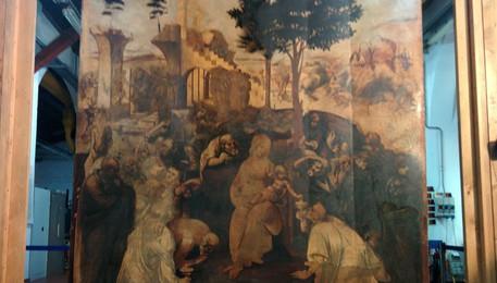 Leonardo, Adorazione dei Magi