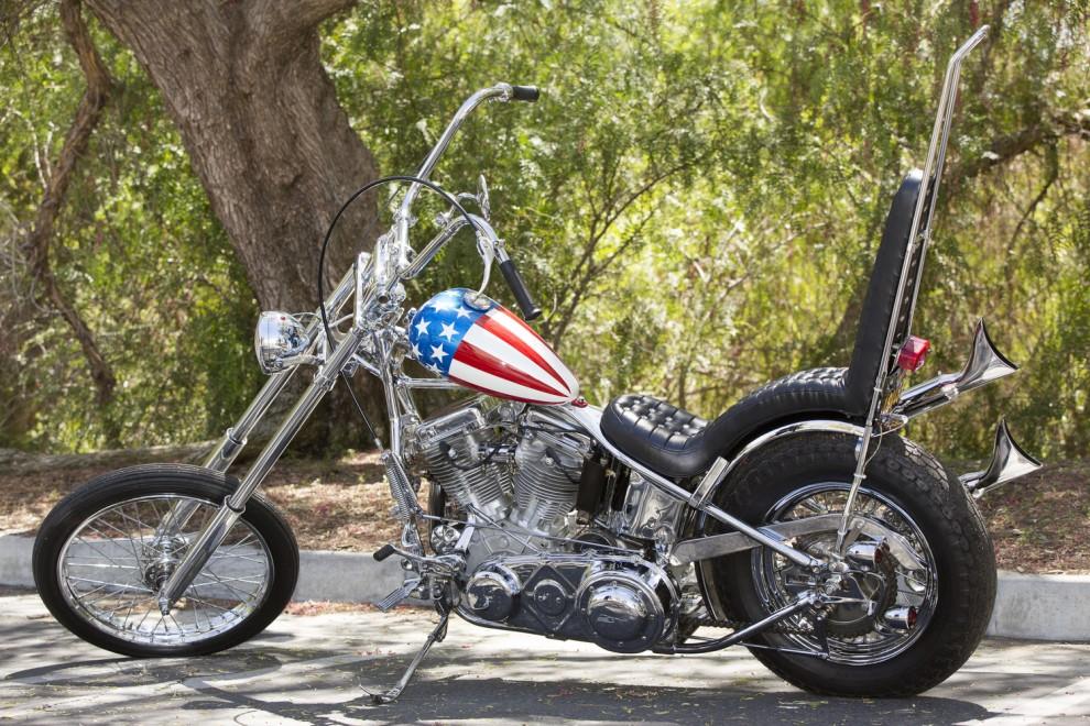 "Harley Davidson di ""Easy rider"""