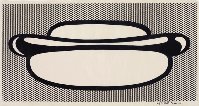 Lichtenstein, Hot Dog