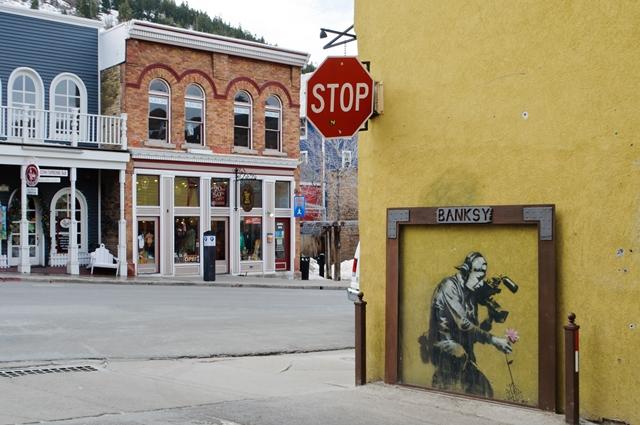 Banksy, murale a Park City, Utah