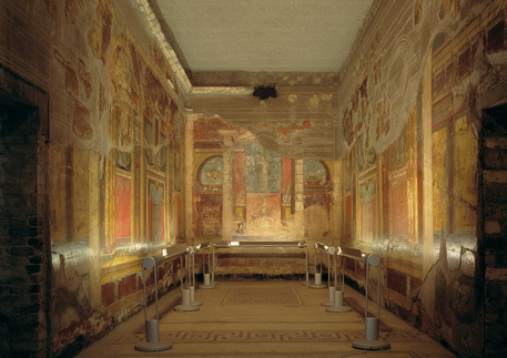 La Villa di Poppea a Oplontis aveva affaccio sul mare