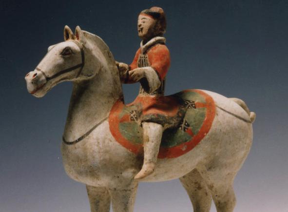 """MAO празднует год лошади. Выставка """"Небесные лошади""""."""