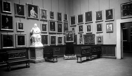 Leonardo:la Gioconda agli Uffizi,in mostra foto 101 anni fa