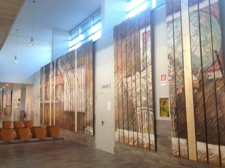 Agorà , installazione di Emilio Farina per Università Roma Tre