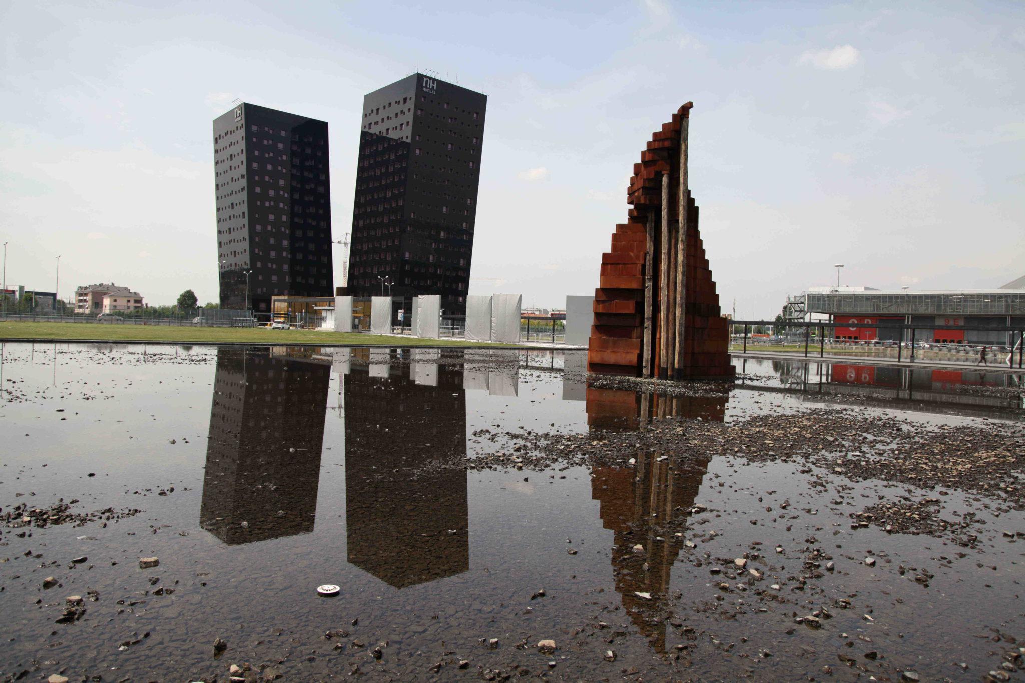 La nuova città che sale di Carlini presentata in Triennale