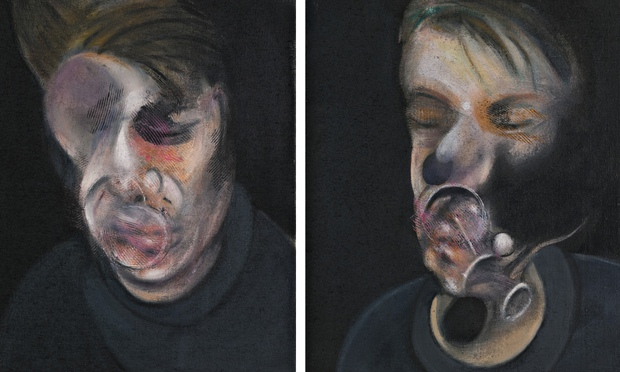 Two Studies for a Self Portrait