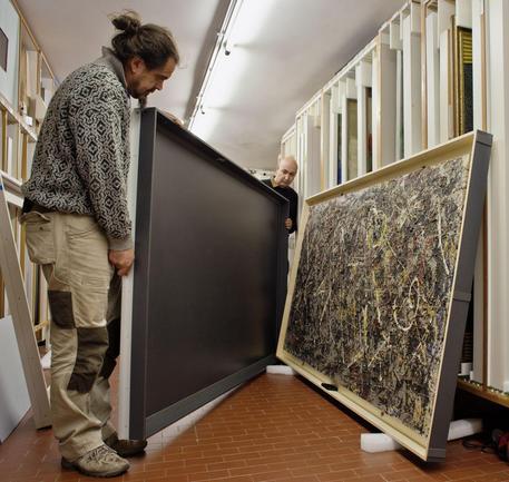 Alchimia di Jackson Pollock