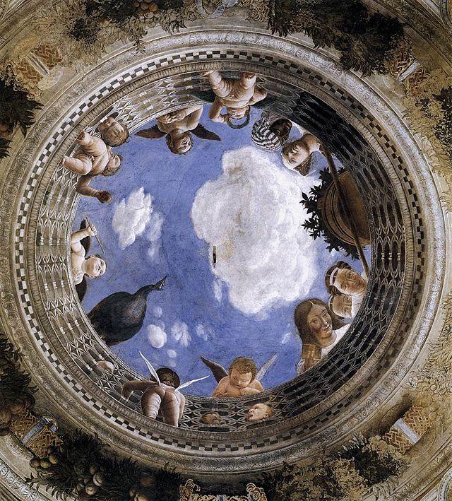 Andrea Mantegna, Camera degli Sposi, Oculo