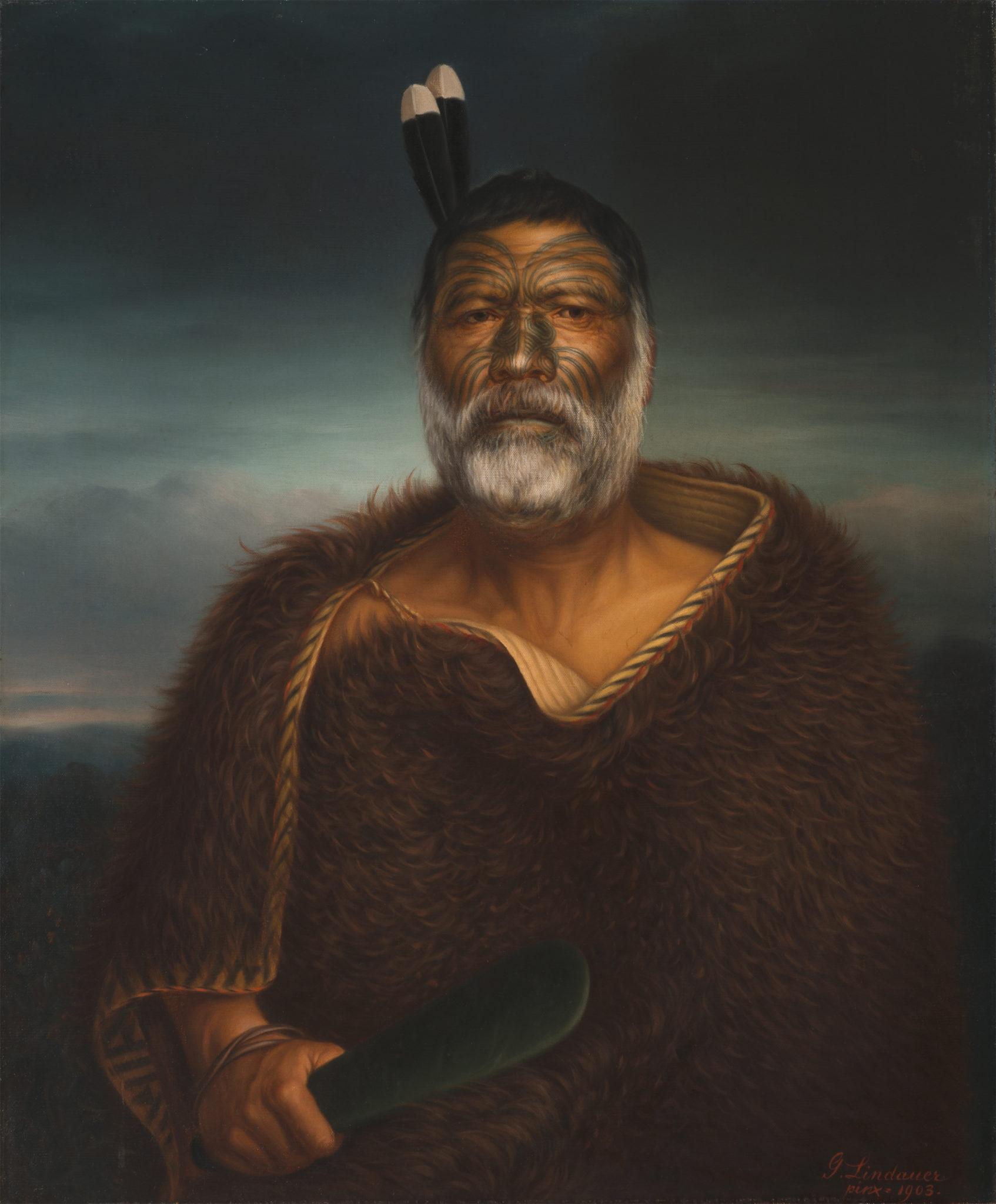 Gottfried Lindauer. The Māori Portraits in Berlin.