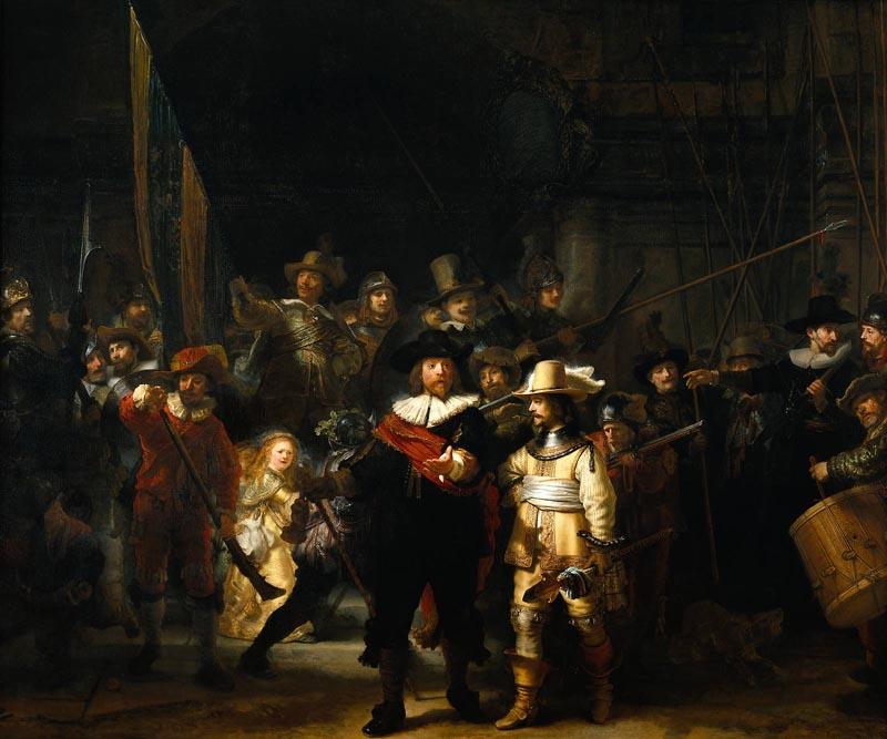 Rembrandt, Ronda di Notte
