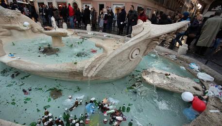 Fontana Barcaccia di Gian Lorenzo Bernini