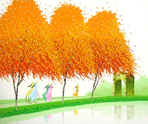 Phan Thu Trang. Four Seasons of Vietnamese landscapes.