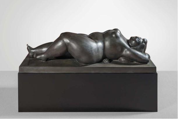 Fernando Botero (né en 1932) Vénus endormie