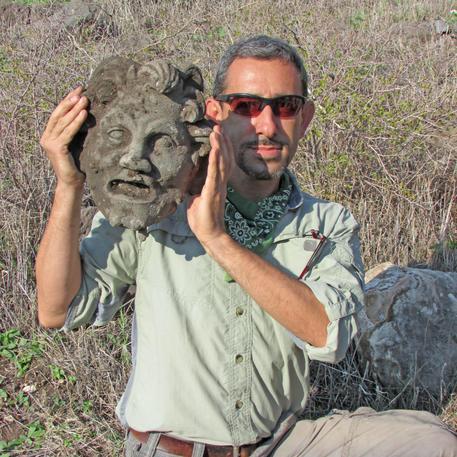 Maschera del dio Pan ritrovata in Israele