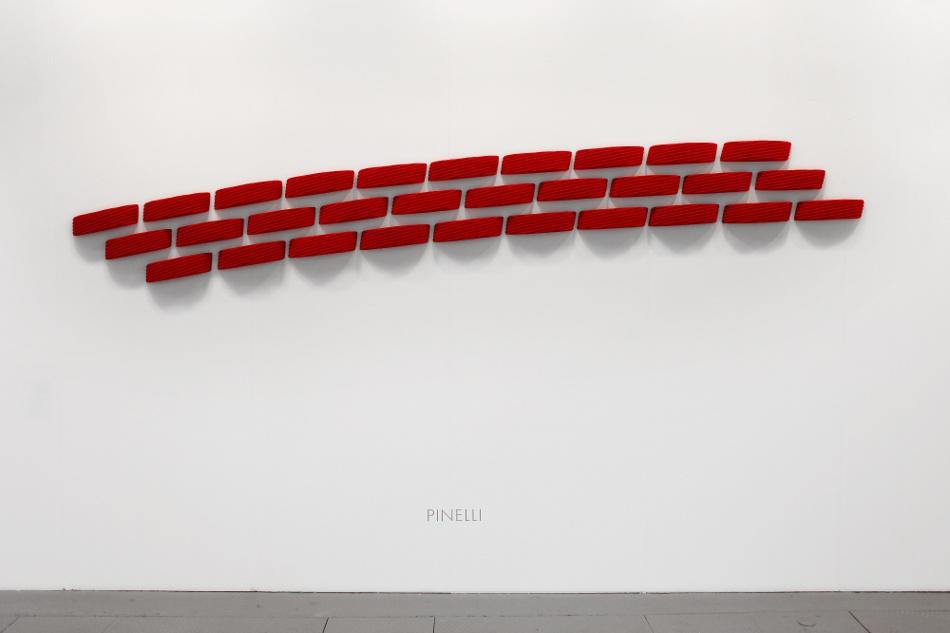 "Pino Pinelli, ""Antologia Rossa"", Dep Art Milano"