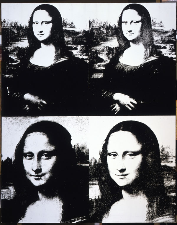 Andy Warhol, Mona Lisa Four Times (1979)