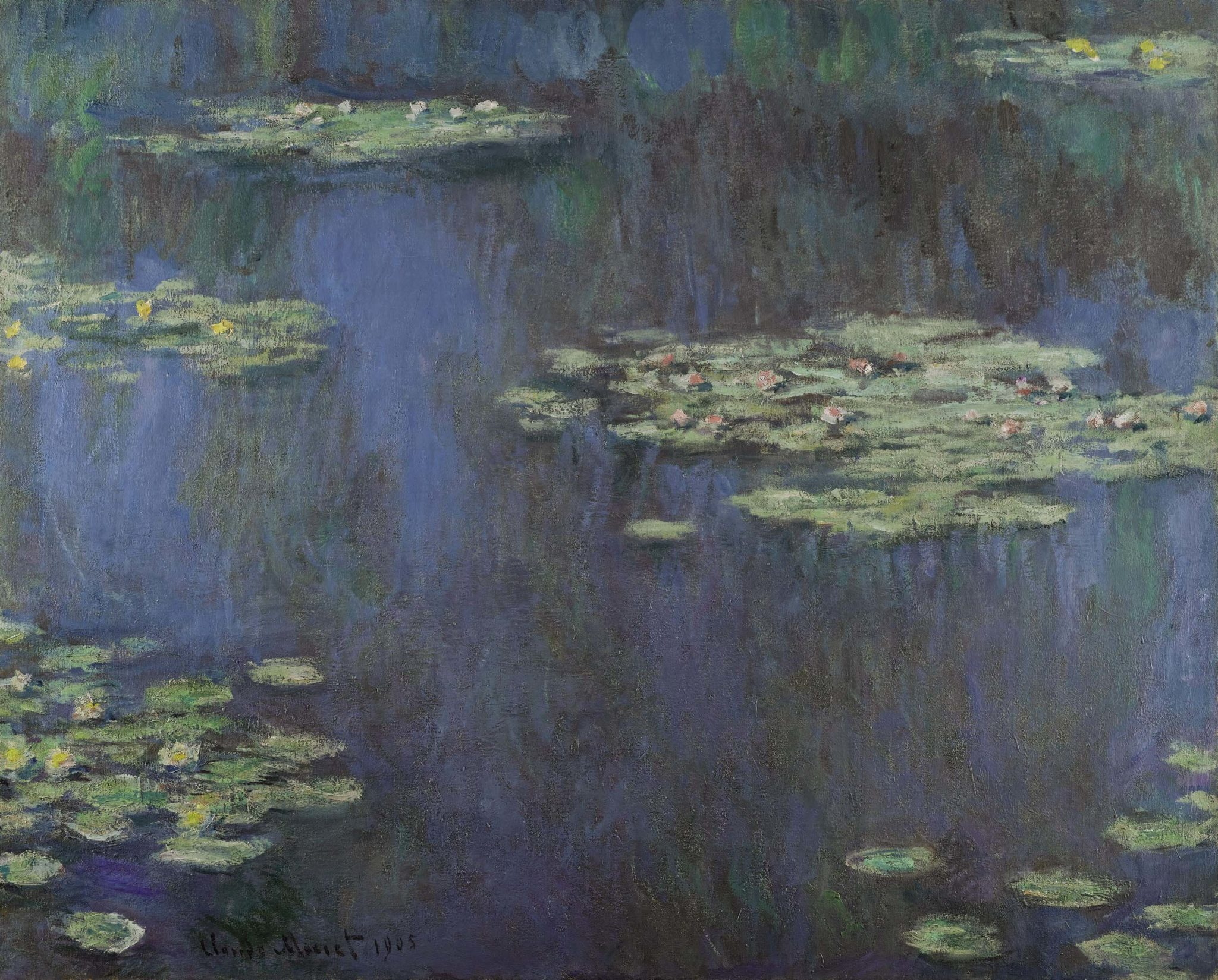 Monet - Nymphéas, 1905. Estimate $30–45 million