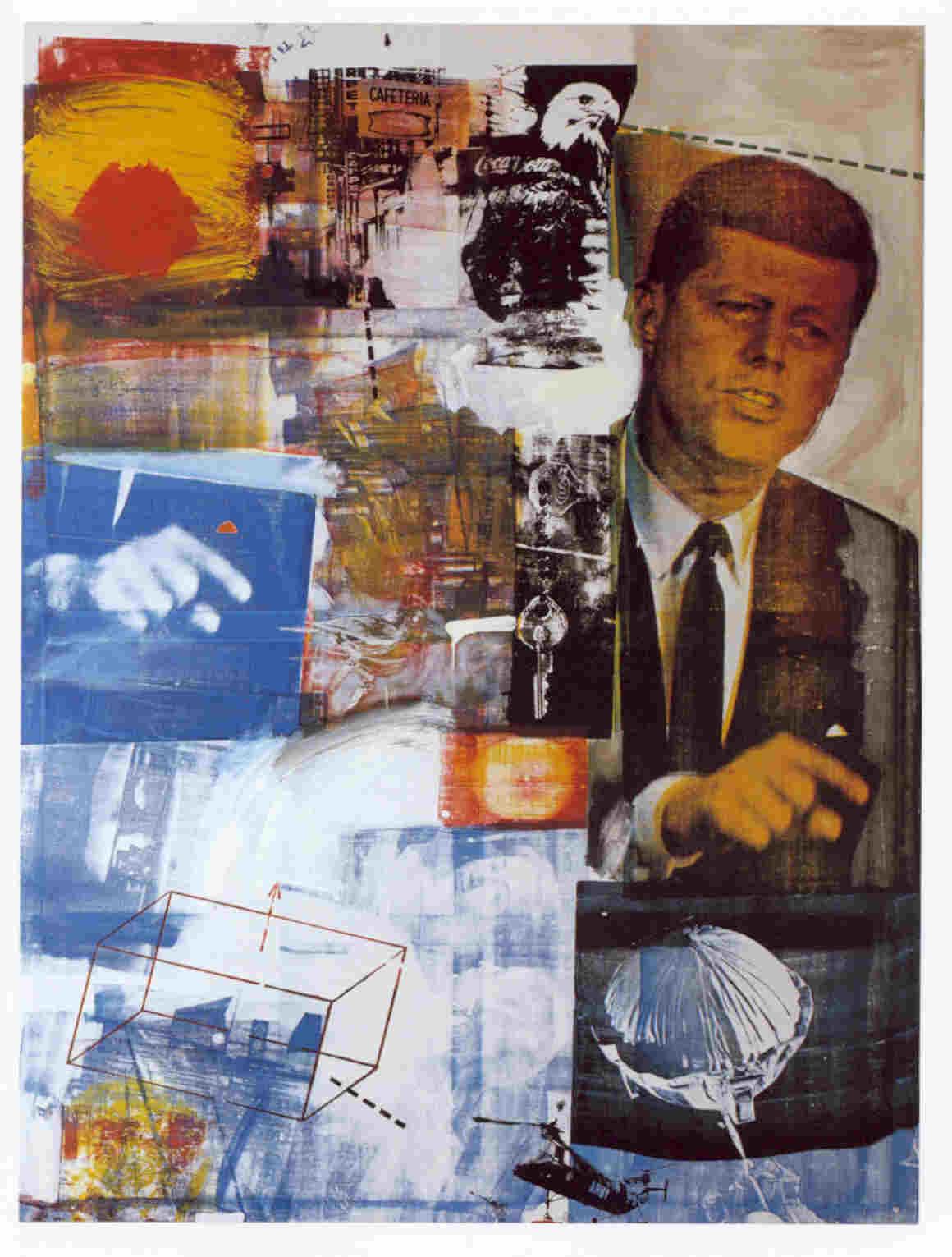Robert Rauschenberg lascia la Gagosian Gallery