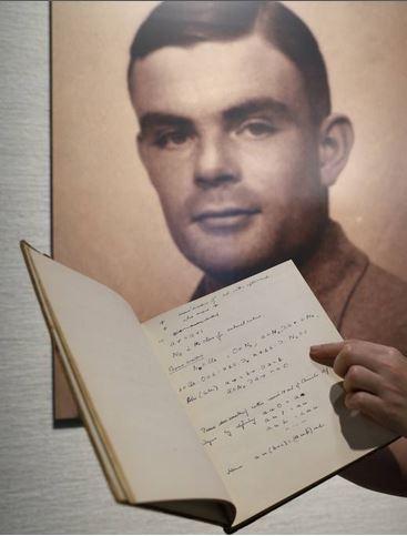 Taccuino di Alan Turing