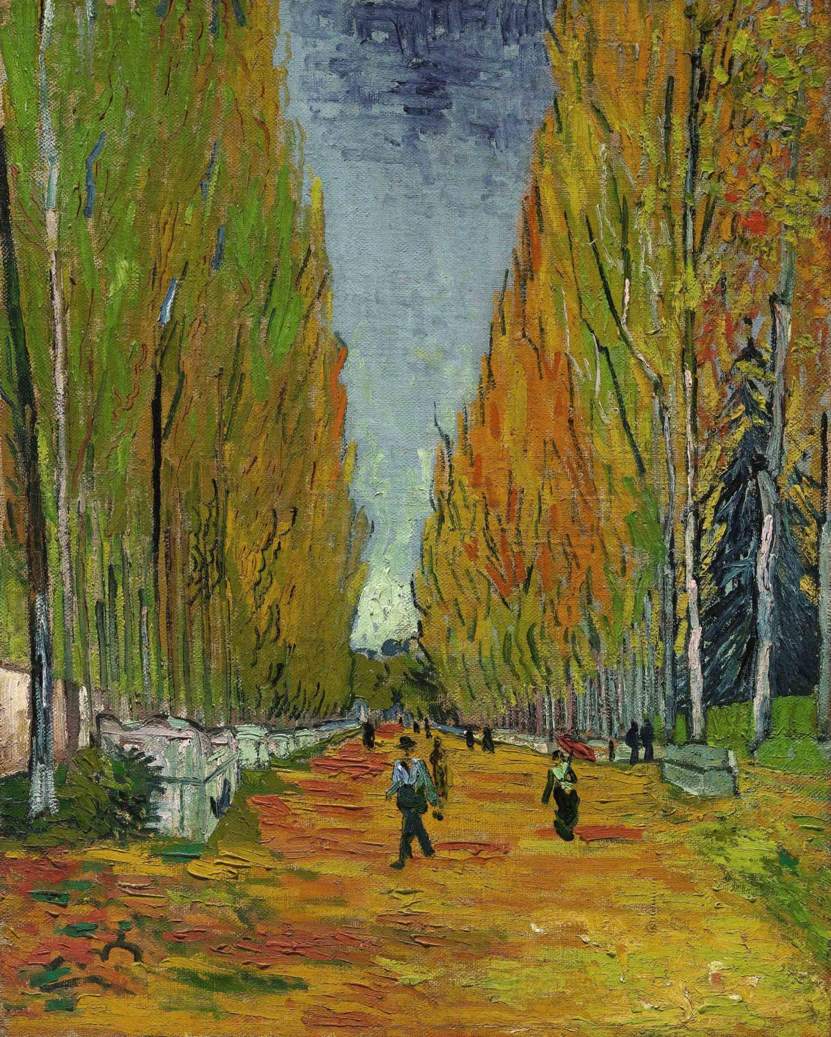 Van Gogh L'ALLÉE DES ALYSCAMPS - ArtsLife