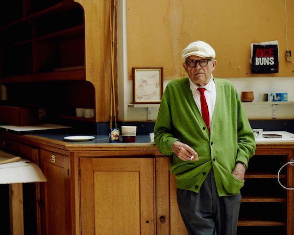 David Hockneynel suo studio. Photo: Ben Quinton via The Guardian