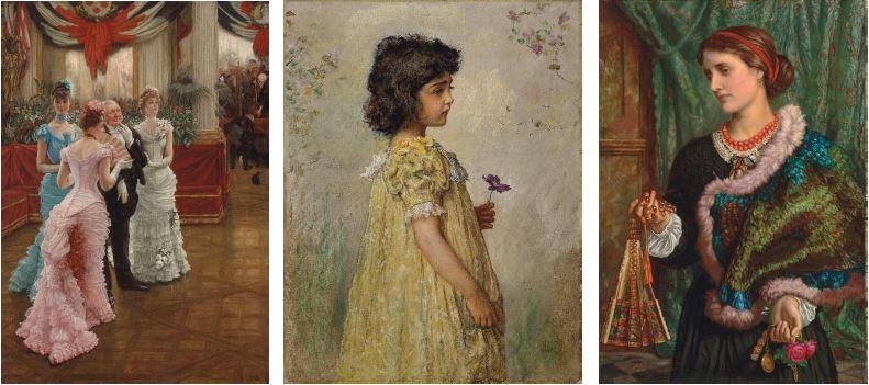 Tissot, Millais, Hunt