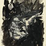 Daniel Blau, Georg Baselitz, n.t (Head), 1979