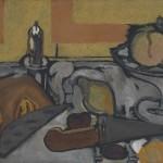 Galerie Michael Haas, Georges Braque, Compotier aux trois pommes, 1941