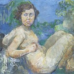 Galerie Michael Haas, Oskar Kokoschka, Elza Temary, 1926-27