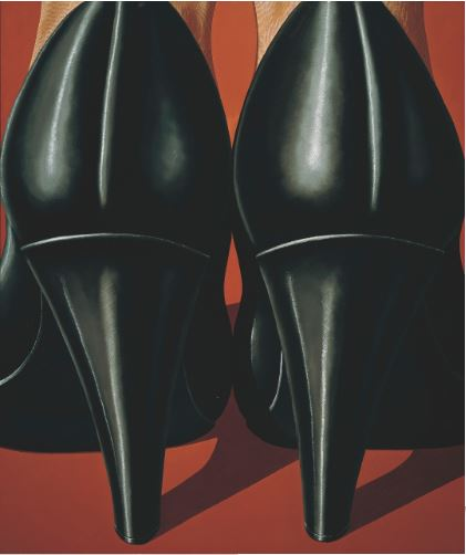 Domenico Gnoli, Lady's Feet, 1969, Von der Heydt Museum, Wuppertal Artwork: © Domenico Gnoli, SIAE / DACS, London 2015