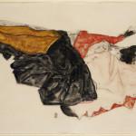 Richard Nagy Ltd., Egon Schiele, Woman Hiding her Face, 1912