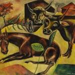 Richard Nagy Ltd., Max Ernst, Horse and Cows, 1919