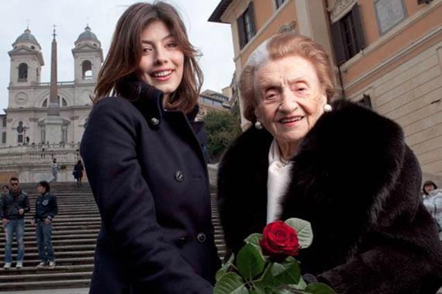 Micol Fontana insieme ad Alessandra Mastronardi - ArtsLIfe