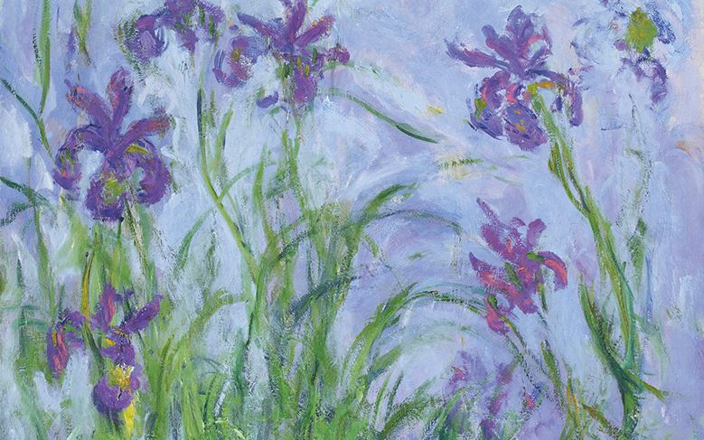 CLAUDE MONET (1840-1926) IRIS MAUVES £6,000,000 - £9,000,000