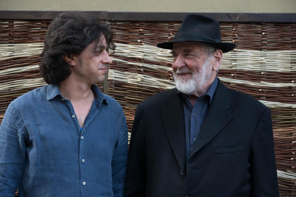 Yuval Avital e Michelangelo Pistoletto