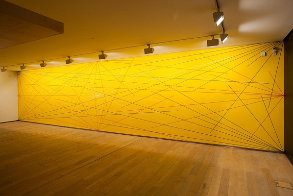 Sol LeWitt's Wall Drawing 280, at the Botín Foundation, Sandander First installation: Hallwalls, Buffalo, New York, January 1976 The Doris and Donald Fisher Collection, San Francisco, CA