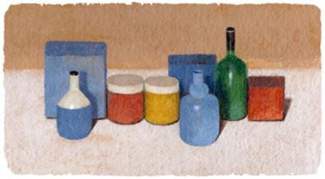 Un Doodle per Morandi, omaggio ad un grande artista del '900