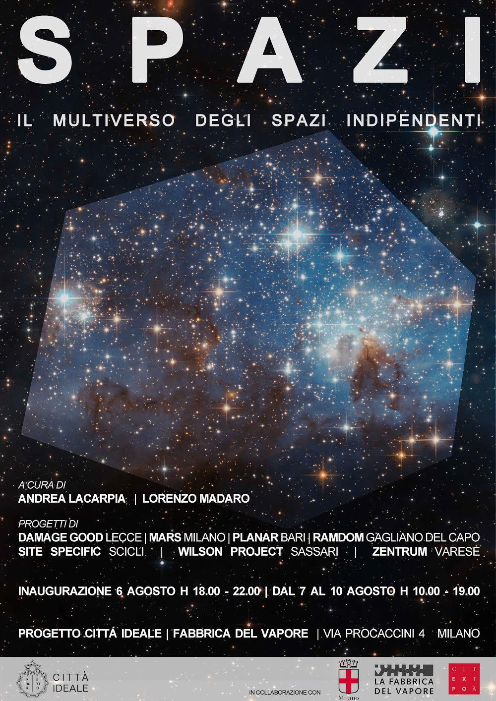 Spazi – Il multiverso degli spazi indipendenti