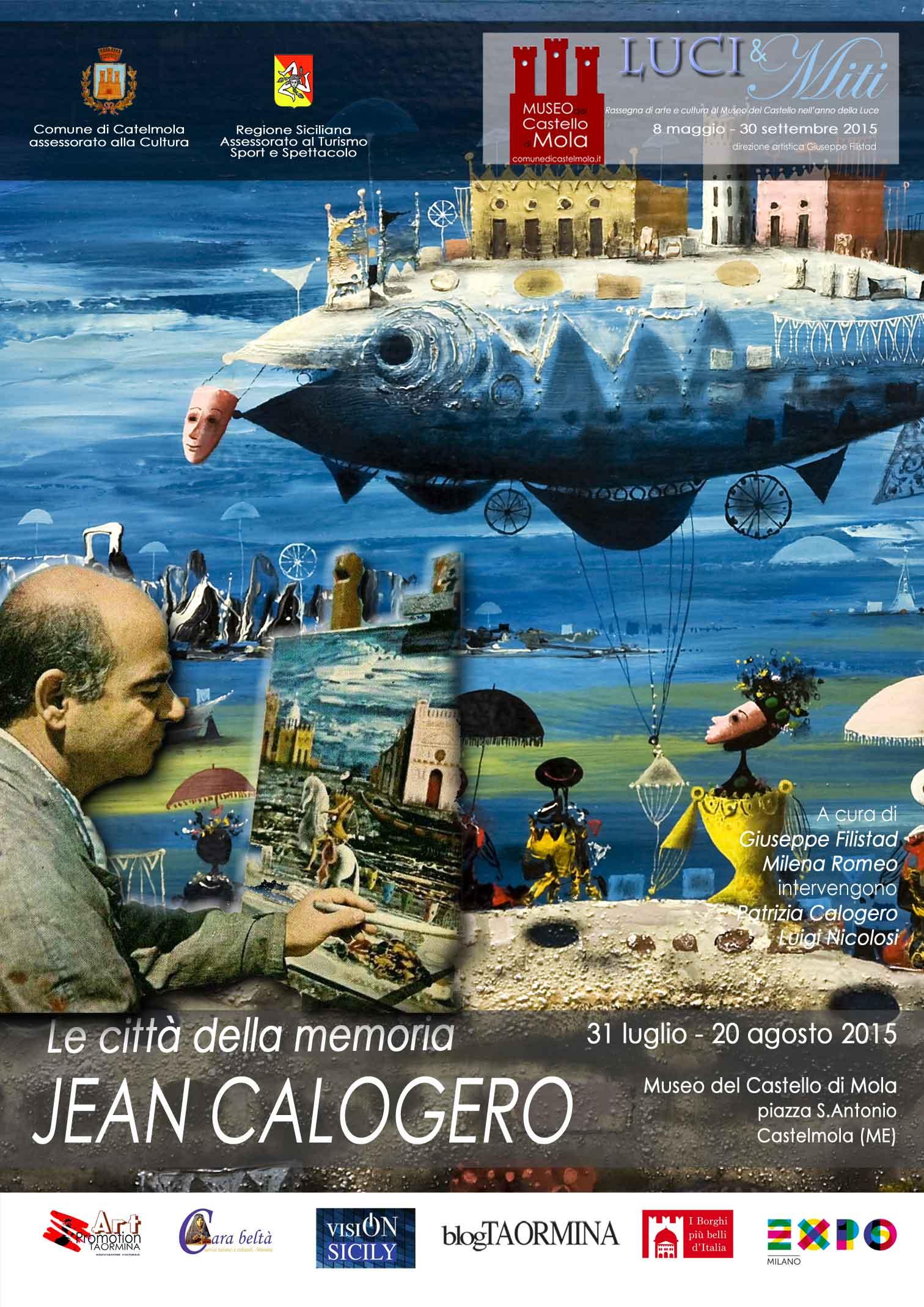 Al Castello di Mola in mostra le opere di Jean Calogero