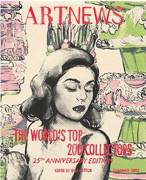 200 Top Collectors 2015. La lista di ARTNews nel 25° anniversario