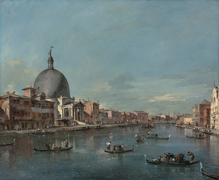 Venezia ieri e oggi. Una veduta di Francesco Guardi all'asta da Christie's
