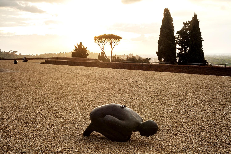 Antony Gormley a Firenze