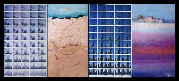 DIALOGO DI VEDUTE: PAESAGGI A CONFRONTO Dalla macchia su faesite alle foto su Polaroid, artisti a confronto per raccontare il nostro spazio